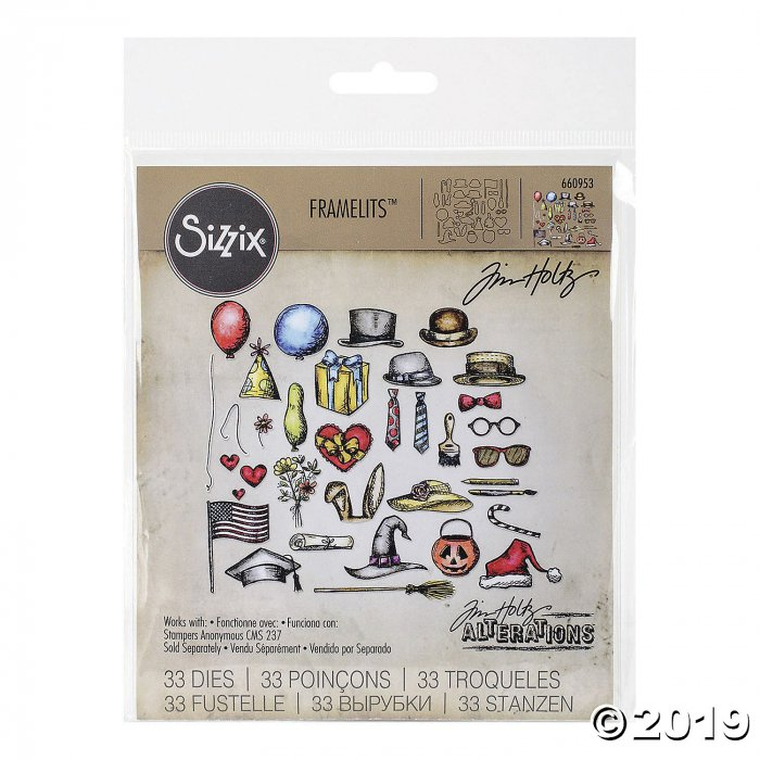 Sizzix Dies Tim Holtz-Crazy Things (1 Piece(s))