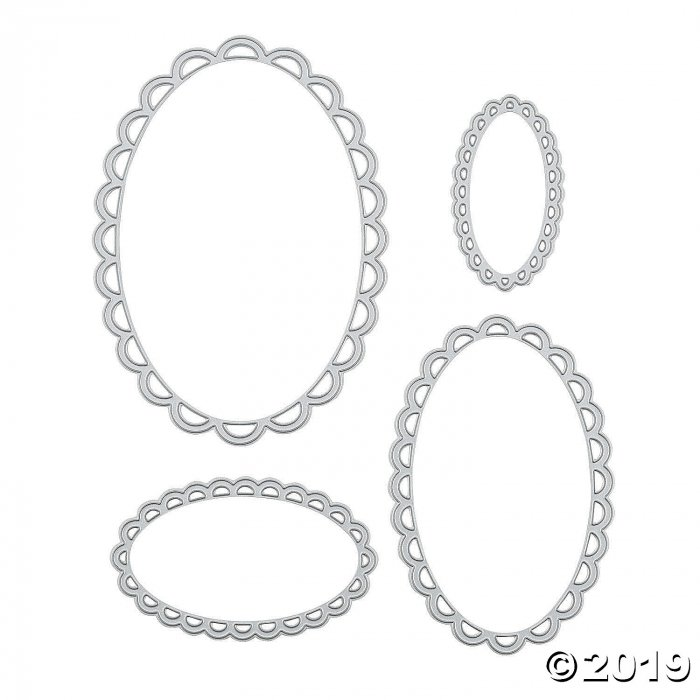 Oval Wave Cutting Dies (1 Set(s))