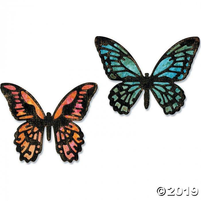 Tim Holtz® Sizzix® Thinlits Mini Detailed Butterflies Cutting Dies (1 Set(s))