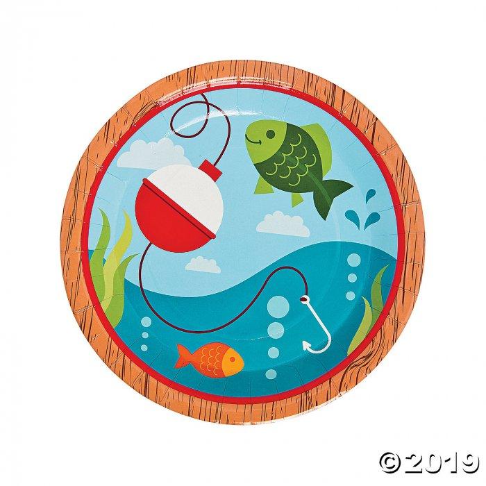 Little Fisherman Paper Dinner Plates (1 Set(s))