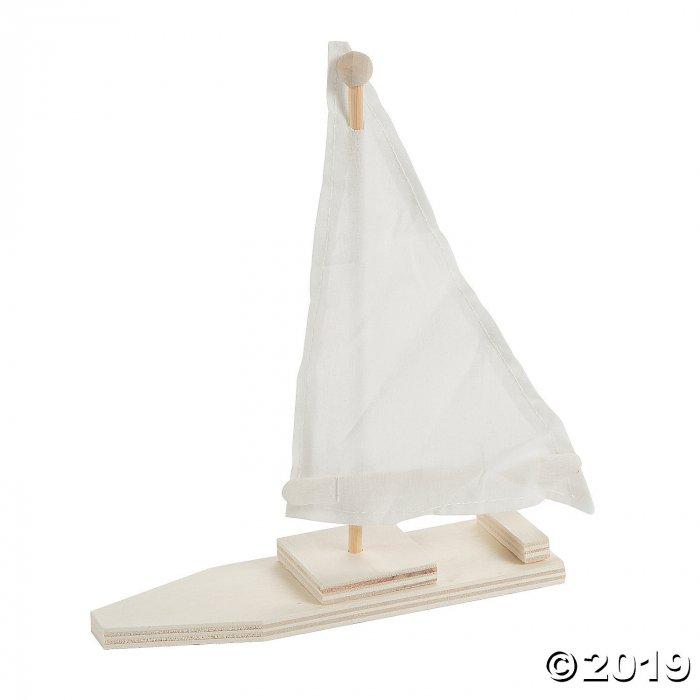 DIY Wood Sailboat Kits (Makes 12)
