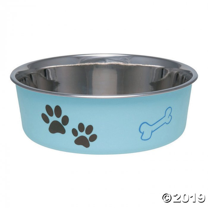Loving Pets Products-Metallic Bella Bowl - Murano Blue (1 Piece(s))