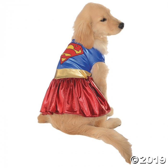 Supergirl Dog Costume - Small (1 Piece(s))