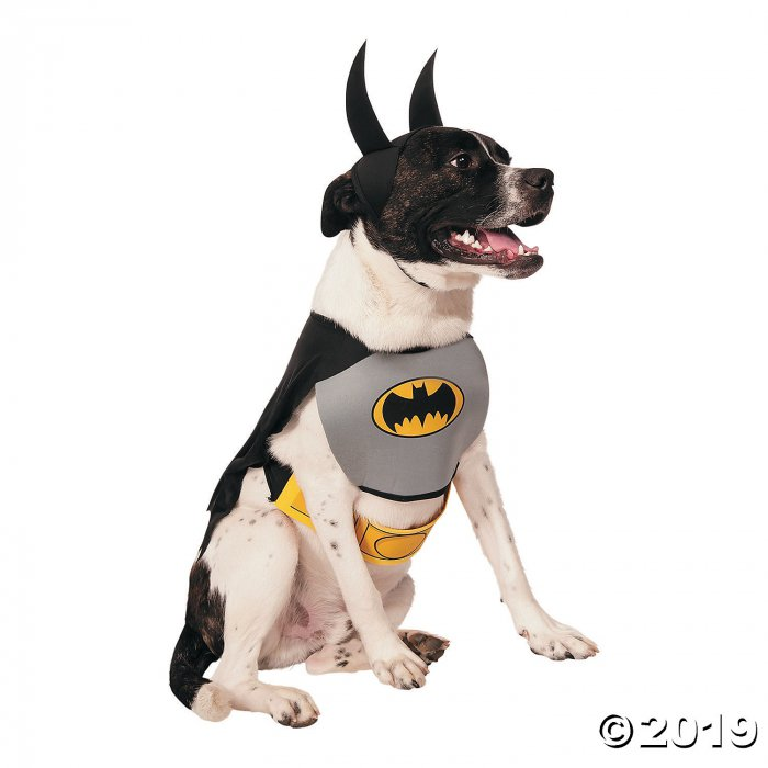Classic Batman Dog Costume - Small (1 Piece(s))