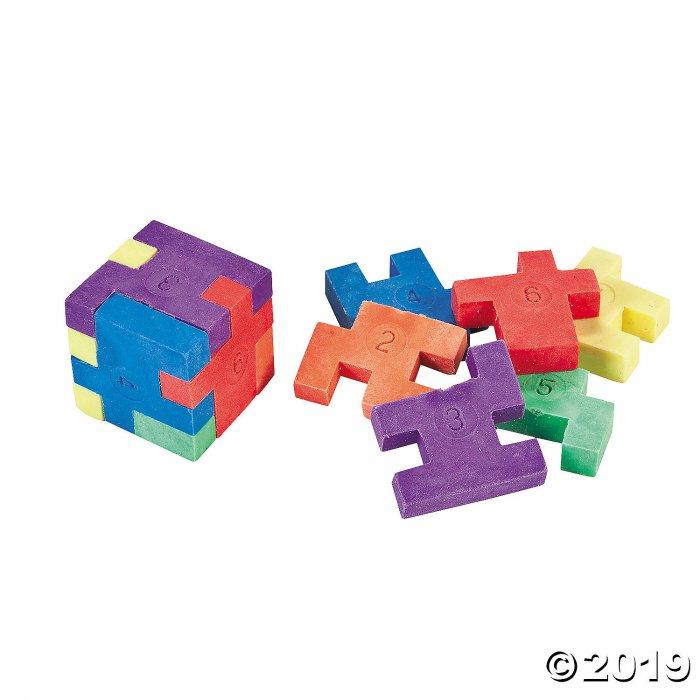 Puzzle Erasers (Per Dozen)