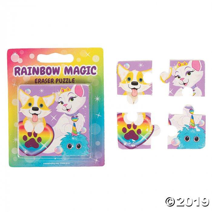 Rainbow Magic Eraser Puzzles (12 Set(s))