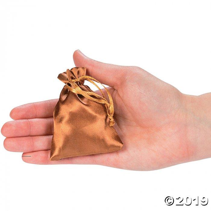 Mini Copper Drawstring Treat Bags (50 Piece(s))