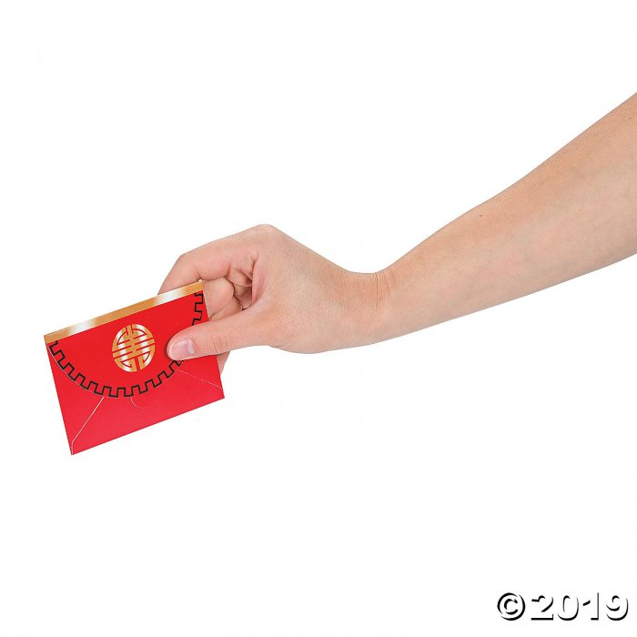 Chinese New Year Favor Envelopes (Per Dozen)