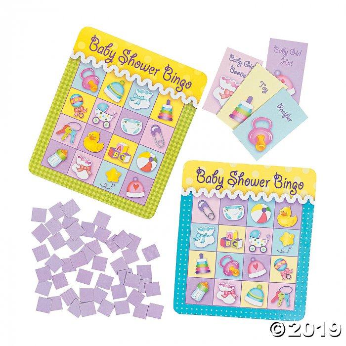 Baby Shower Bingo Game (1 Set(s))