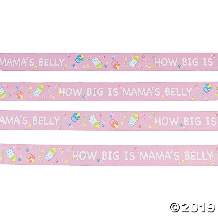 How Big is Mama's Belly Baby Shower Game (20 ft)
