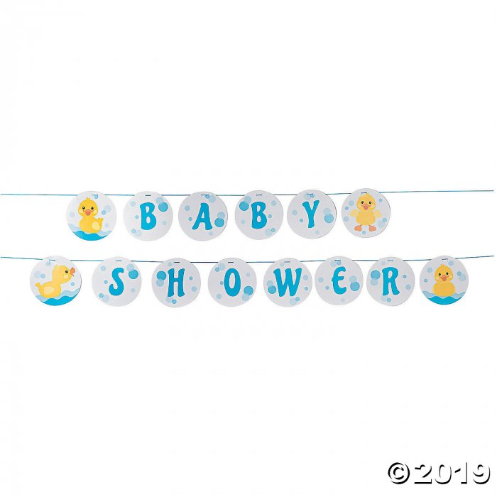 Rubber Ducky Baby Shower Garland (1 Set(s))