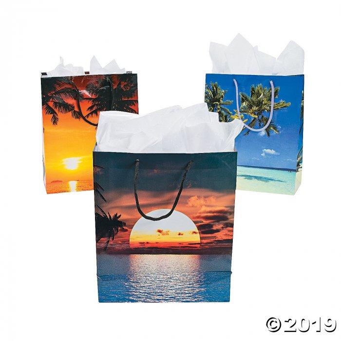 Medium Sand & Sun Gift Bags (Per Dozen)