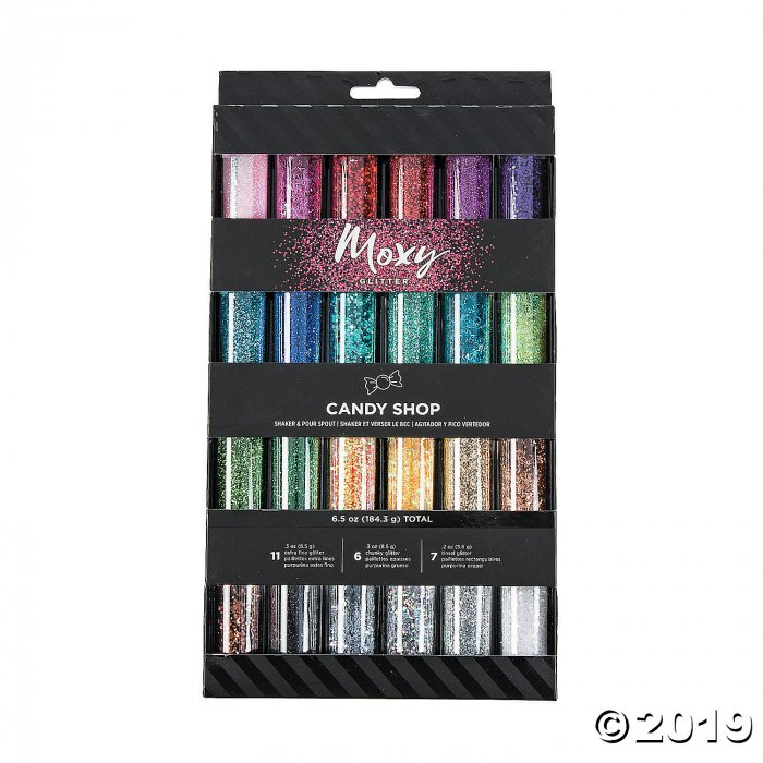 American Crafts™ Moxy Candy Shop Tinsel & Glitter (24 Piece(s))