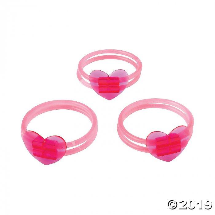 Valentine Glow Bracelets (Per Dozen)