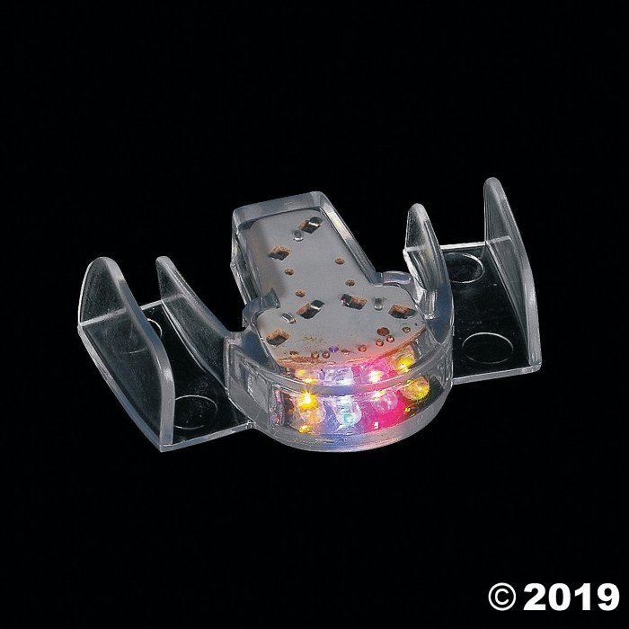 Flashing Teeth Mouthpiece (Per Dozen)