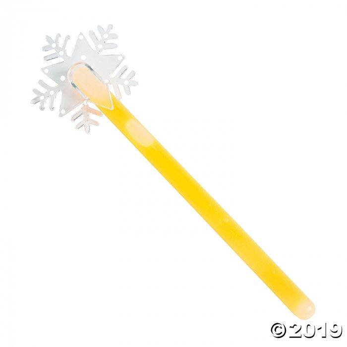 Snowflake Glow Wands (Per Dozen)