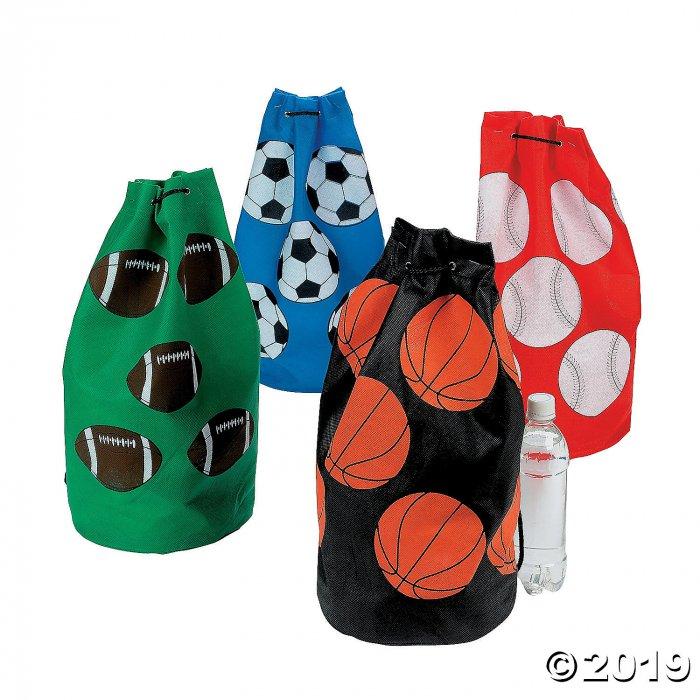 Medium Sport Ball Drawstring Bags (Per Dozen)