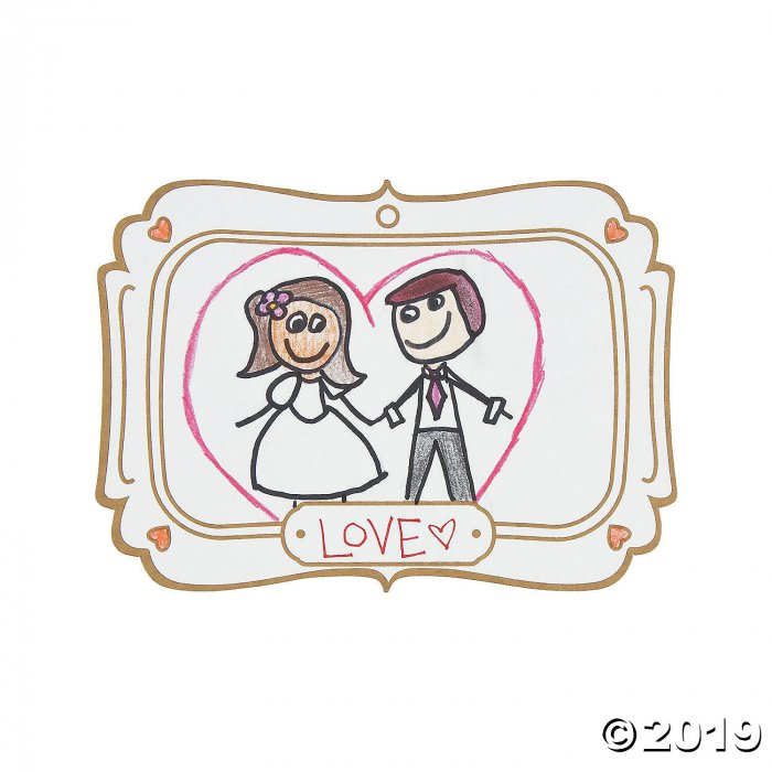 Draw the Happy Couple Cards (25 Piece(s))