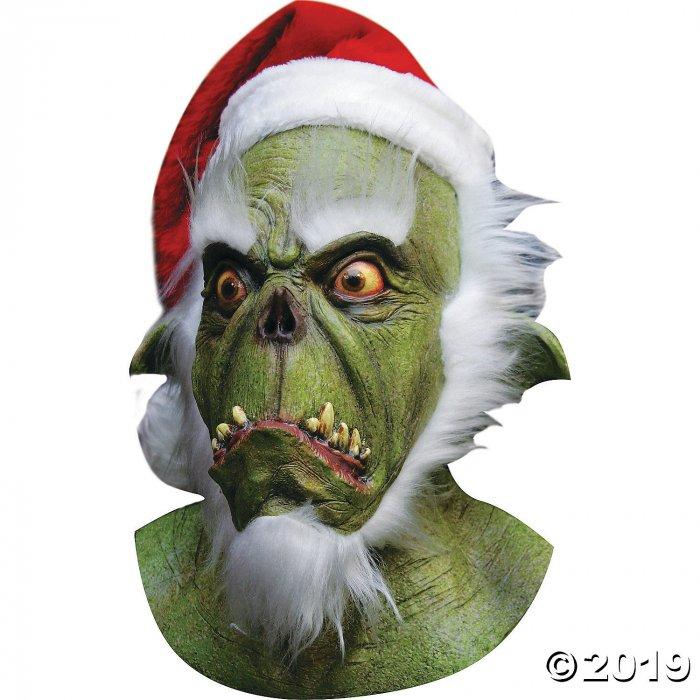 Latex Green Santa Mask (1 Piece(s))