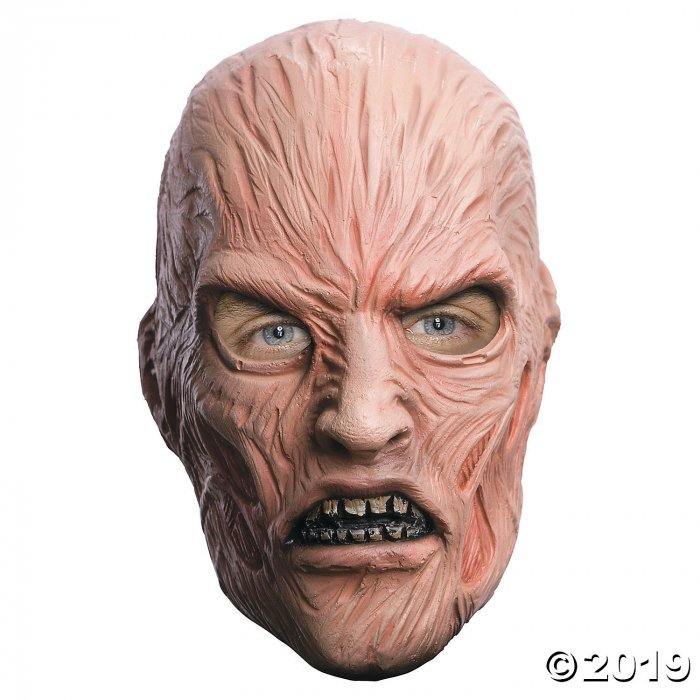 Latex Freddy Krueger Mask (1 Piece(s))