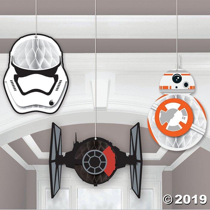 Star Wars™ VII Honeycomb Décor (3 Piece(s))