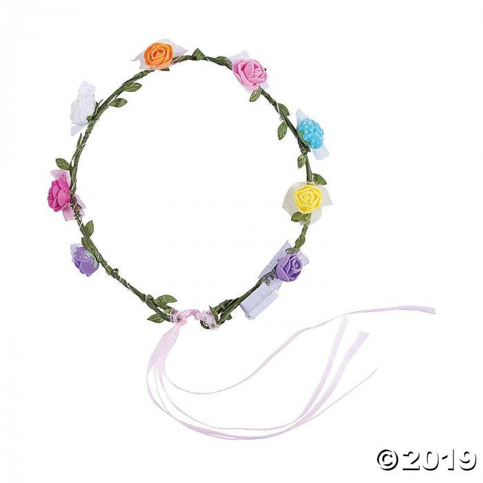Light-Up Floral Headbands (6 Piece(s))
