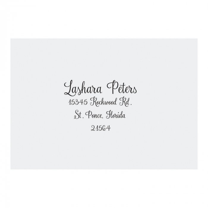 Personalized Love Script Response Cards (25 Piece(s))
