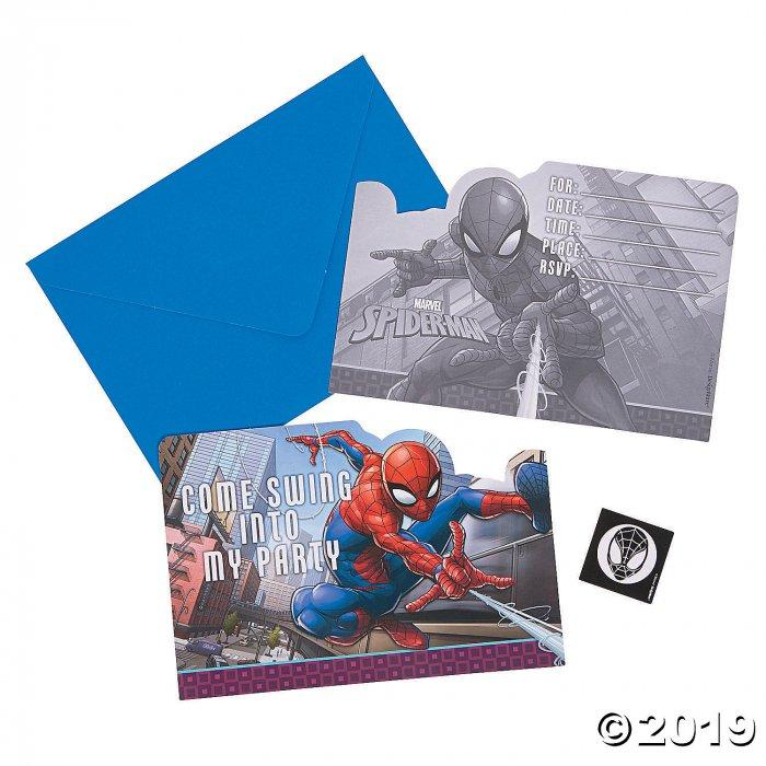 Ultimate Spider-Man™ Invitations (8 Piece(s))