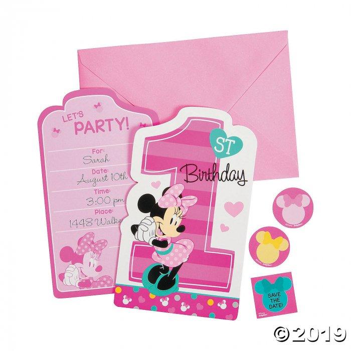 Disney® Minnie's Fun To Be One Invites (8 Piece(s))