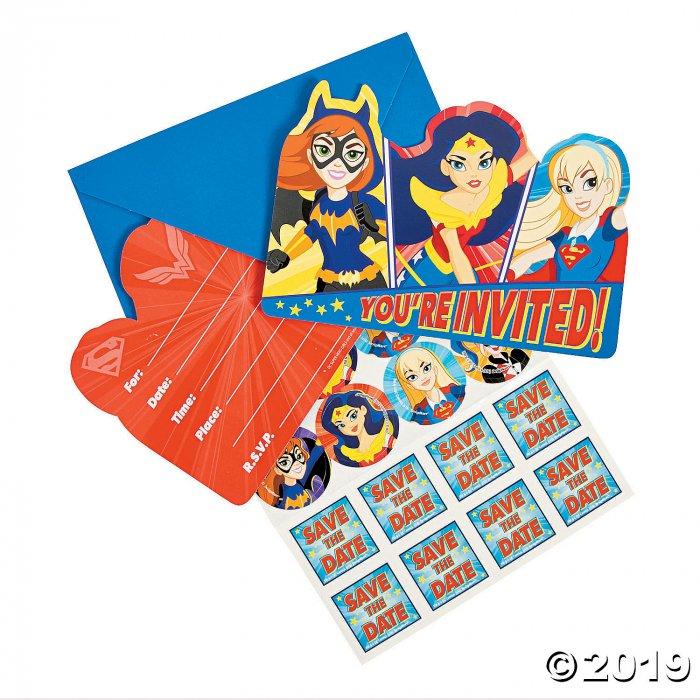 DC SuperHero Girls™ Party Invitations (8 Piece(s))