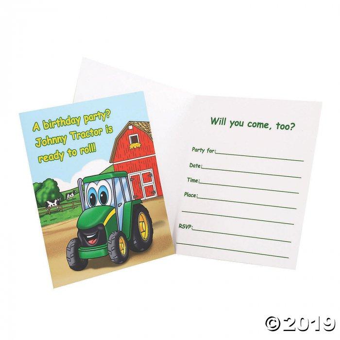 John Deere™ Johnny Tractor Invitations (8 Piece(s))