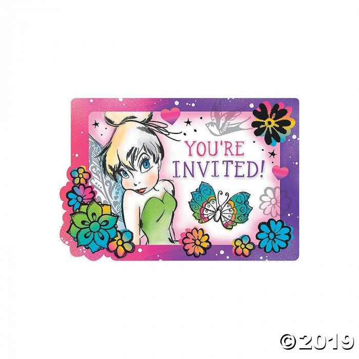 Tinker Bell Keep Flying Invitations (8 Piece(s))