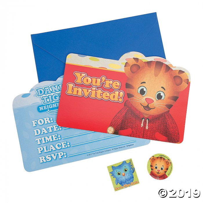 Daniel Tiger's Neighborhood™ Invitations (8 Piece(s))