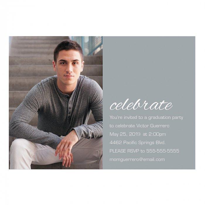 Custom Photo The Graduate Invitations (25 Piece(s))