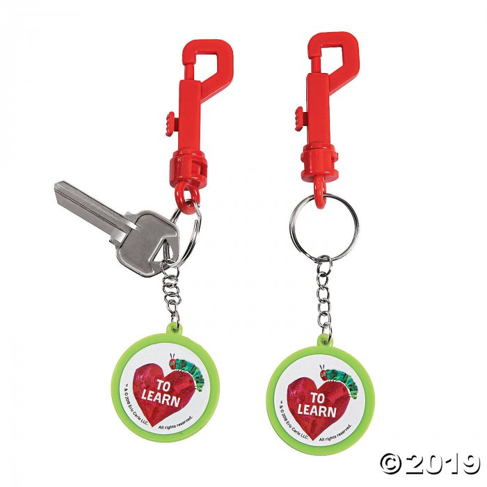 The World of Eric Carle™ Backpack Clip Keychains (Per Dozen)