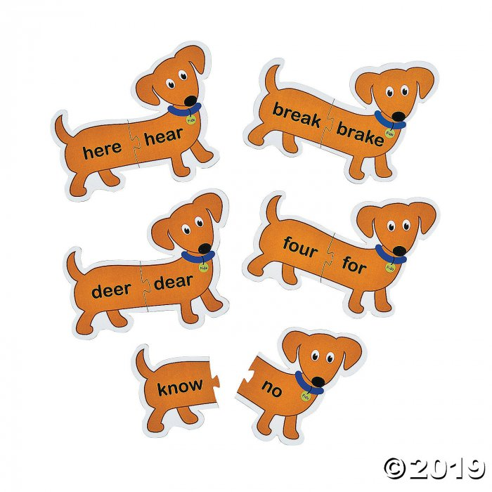Long Dog Homophone Puzzles (1 Set(s))