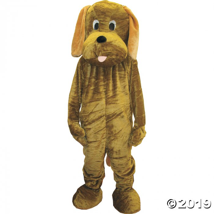 Adult's Floppy Ear Puppy Dog Mascot Costume (1 Piece(s))