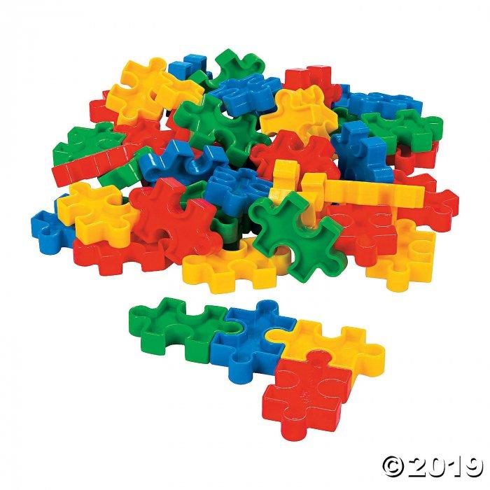 Puzzle-Shaped Manipulatives Blocks (1 Set(s))