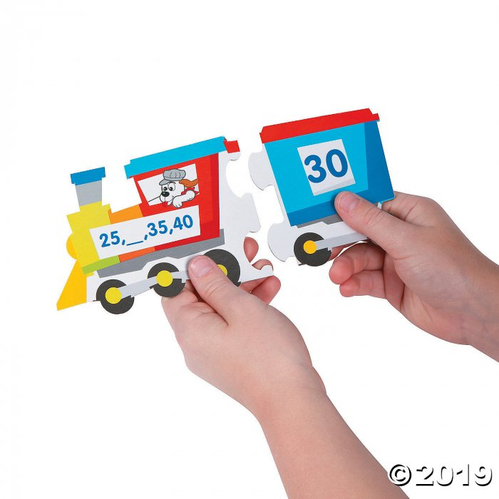 Patterning & Skip Counting Puzzles (Makes 30)