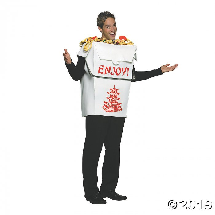 Adult's Chinese Take-Out Costume (1 Piece(s))