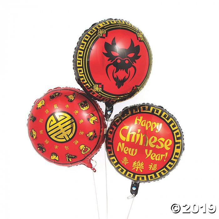 Chinese New Year Mylar Balloons (1 Set(s))
