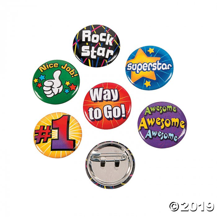 Award Mini Buttons (48 Piece(s))