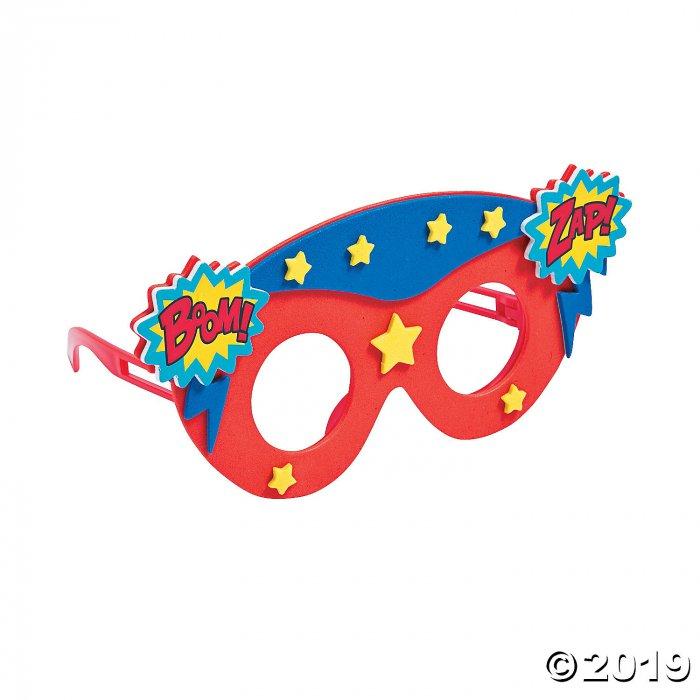 Kids' Superhero Glasses Craft Kit (Makes 12)