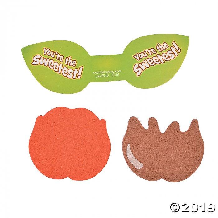 Caramel Apple Sucker Craft Kit (Makes 12)