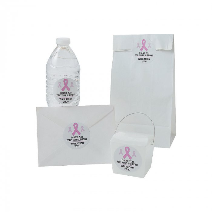 Personalized Awareness Ribbon Favor Stickers (144 Piece(s))