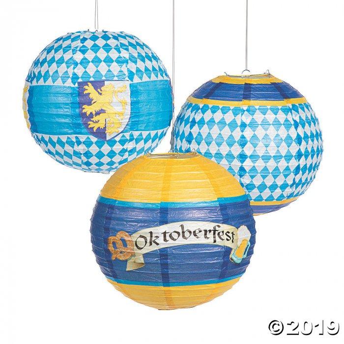 Oktoberfest Hanging Paper Lanterns (6 Piece(s))