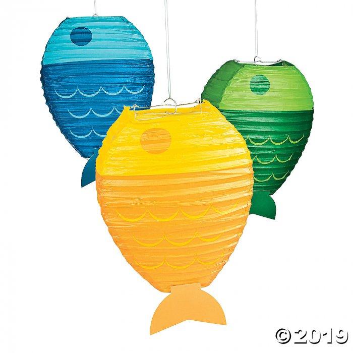 Little Fisherman Hanging Paper Lanterns (3 Piece(s))