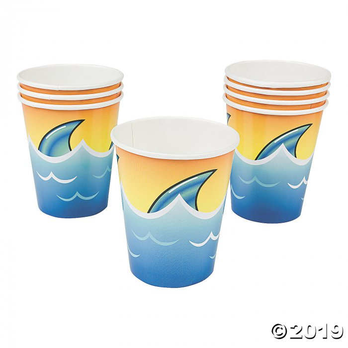 Jawsome Shark Paper Cups (8 Piece(s))
