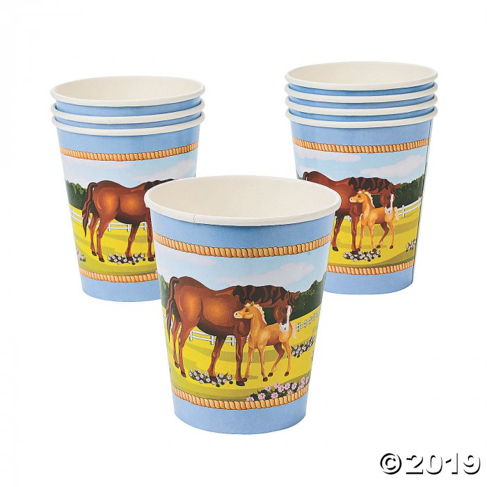 Horse Party Paper Cups (8 Piece(s))