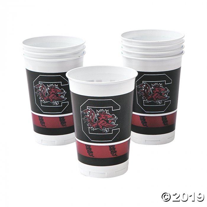NCAA™ South Carolina Plastic Cups (8 Piece(s))